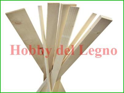 Listelli in legno materiali for Hobby del legno
