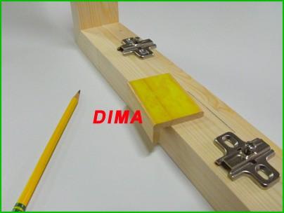 Telai per ante su misura prezzi imbattibili consegna for Dima per cerniere wurth